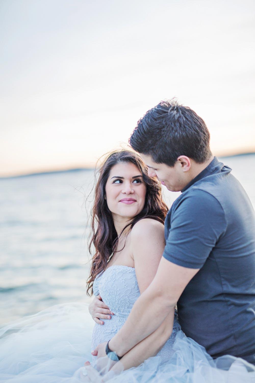 Graviditet dating blod prov